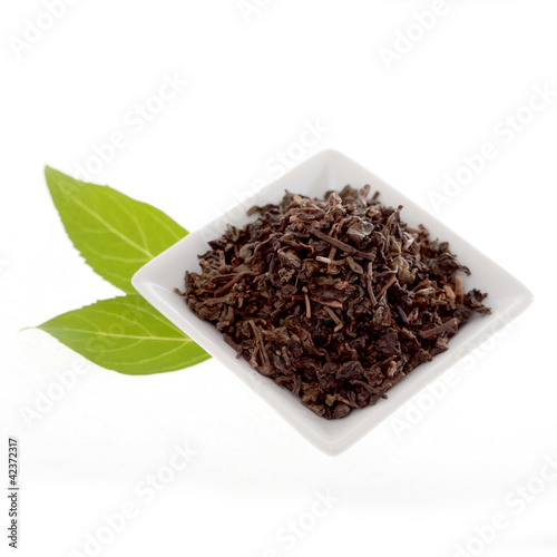 Grüner Tee lose Zutat für Bubble Tea