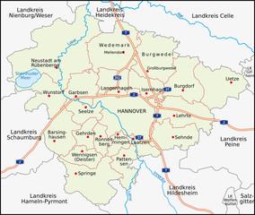 Hannover, Region