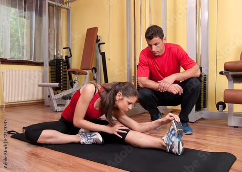 Fototapeten,kutsche,fitness,mädchen,gymnastik