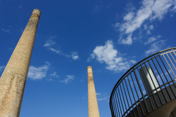 Two Old Chimneys