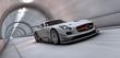 Leinwandbild Motiv tunnel racer