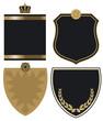 Wappen gold-schwarz