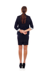Business Woman's Back