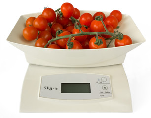Scales with Tomatoes