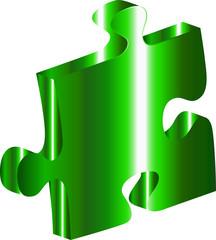 Puzzle verde