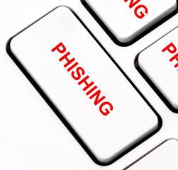 Phishing button on keyboard