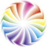 Vector illustration. Color wheels