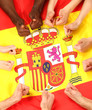 Spanien Fans