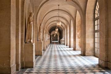 Коридор Версальского дворца в Париже