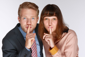 Psst, nicht weitersagen,Geheimnis!