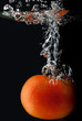 Diving tomato