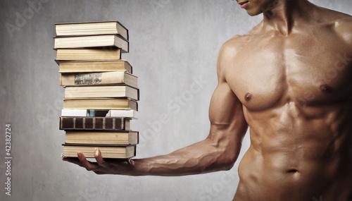 Leinwandbilder,kultur,ausbildung,bücher,mann
