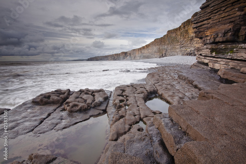 Nash Point on the Glamorgan Heritage coastline