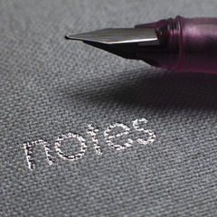 stylo plume st carnet de notes