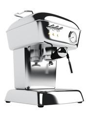Metal coffee maker