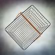 empty wire basket