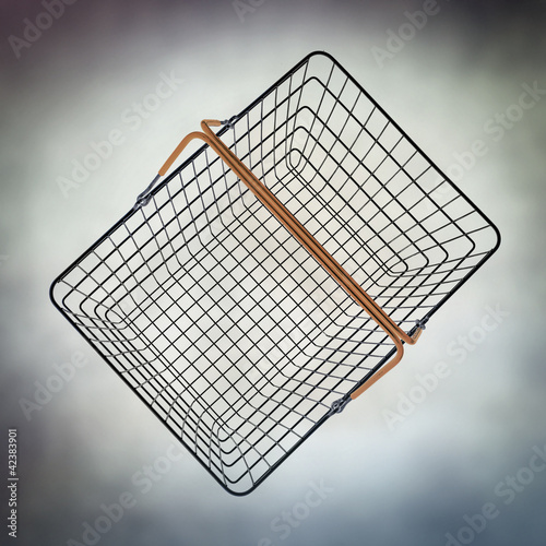 empty wire basket