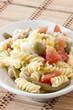 pasta fredda con mozzarella