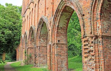 Ruine des Zisterzienserklosters Hude (Niedersachsen)