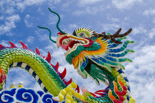 Leinwanddruck Bild Chinese dragon
