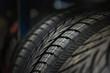 The tire tread. Conceptual background.