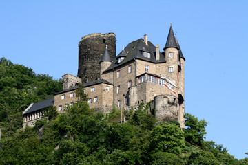 Katz Castle in Germany
