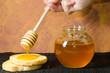 Постер, плакат: composizione con miele