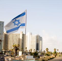 skyline cityscape Tel Aviv Israel