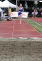 Athletics long jump