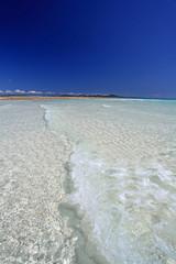 伊平屋島の澄んだ美しい海
