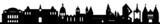 Skyline Mainz mit Wahrzeichen