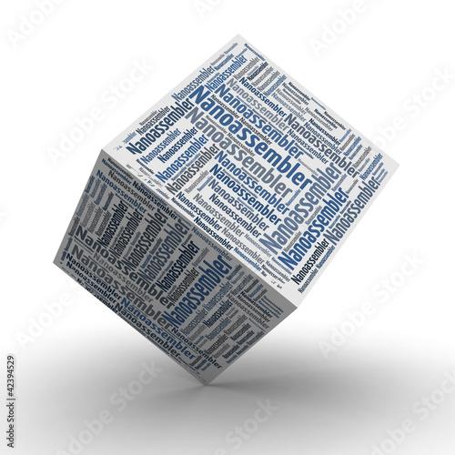 Nanoassembler - Würfel / Cube