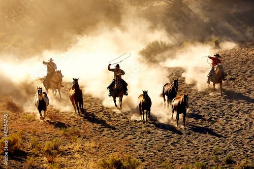 Leinwandbild Motiv Cowboy Pleasure