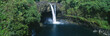 Rainbow Falls in Wailuku River State Park, Hilo, Hawaii