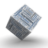 Unternehmen - Würfel / Cube
