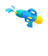 Vector icon water gun