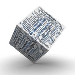 Verbrennungsmotor - Würfel / Cube