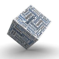 Weblogs - Würfel / Cube