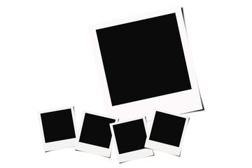 Polaroid films background