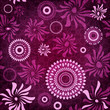 Dark-purple seamless pattern