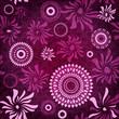 Dark-purple seamless pattern