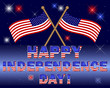 Independence Day card.