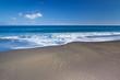 plage de sable noir, l'Etang-Salé, île de la Réunion