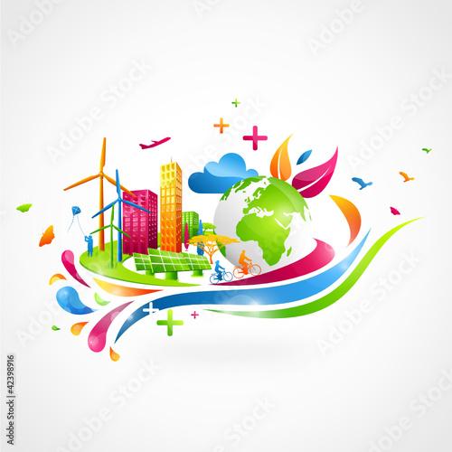 EcoCité colorée
