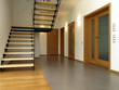 Stairway in modern house