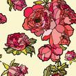 Бесшовный цветочный паттерн