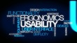 Usability ergonomics user interface tag cloud video