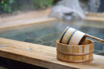 日本の露天風呂