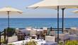 Leinwanddruck Bild - Terraza playa