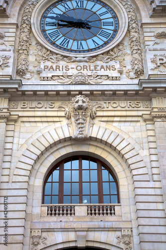 Paris orleans station clock in Paris